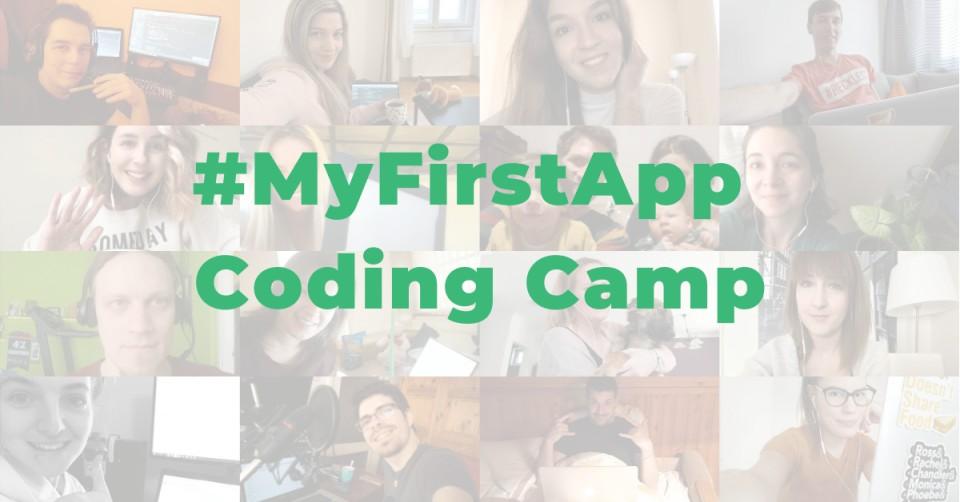 #MyFirstApp Coding Camp