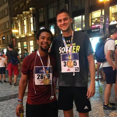 michael lluesma green fox academy marathon