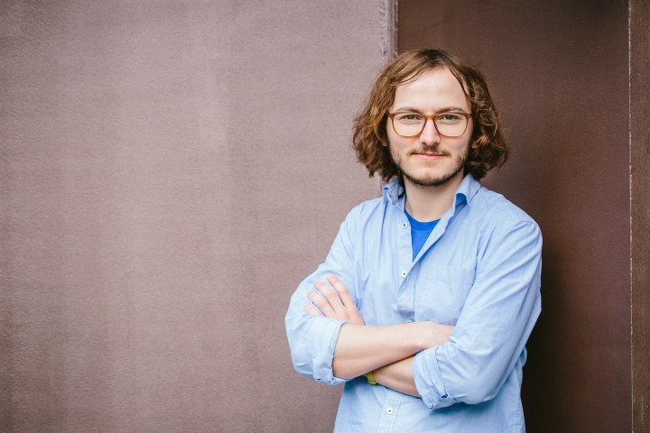 Jakub Jenč, dříve student antropologie