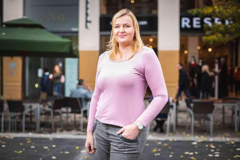 Jiřina, dříve HR specialistka