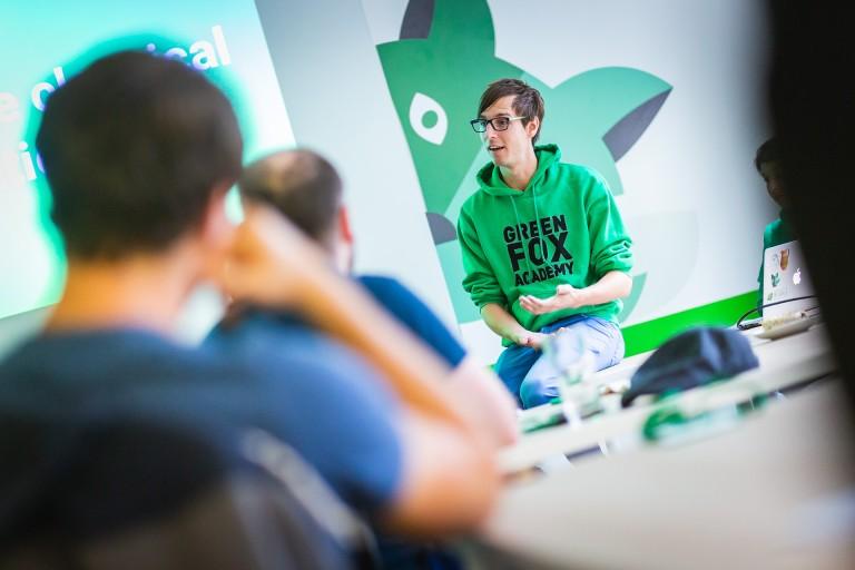 Green Fox Academy mentor Adam