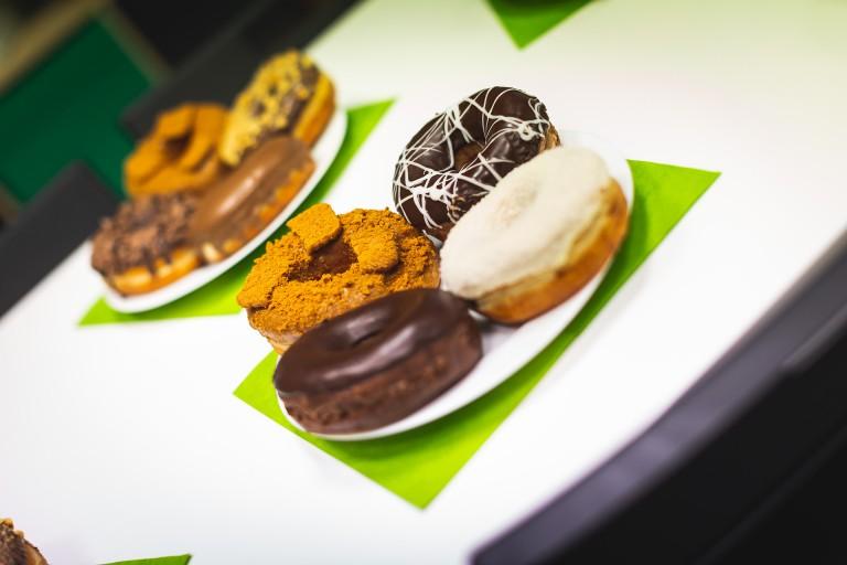 Green Fox Academy donuty ke snídani