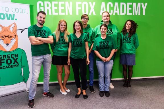 Pražský tým Green Fox Academy