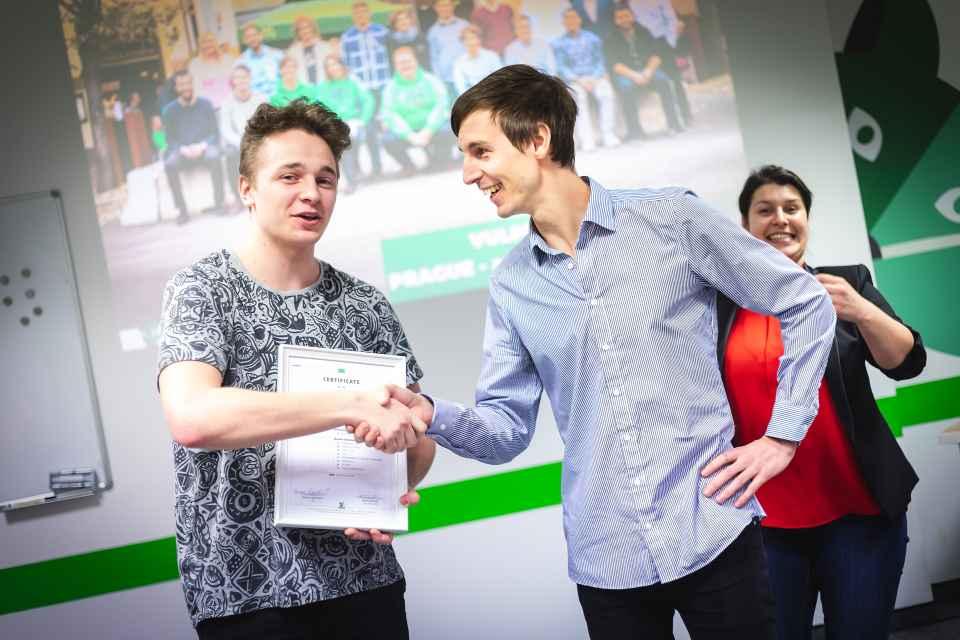 green fox academy promoce studentů
