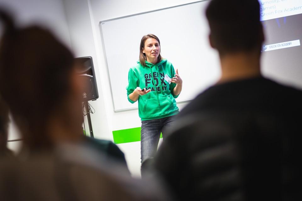 green fox academy rekvalifikační kurz