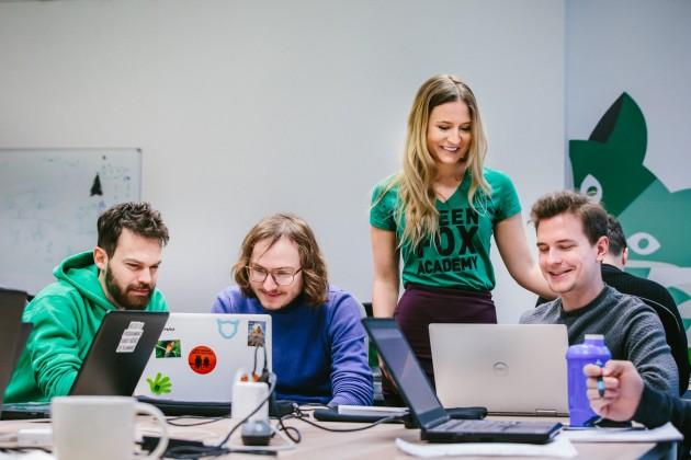 green fox academy student programování Jakub