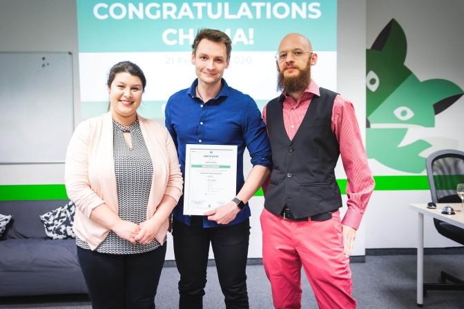 green fox academy junior programátor promoce