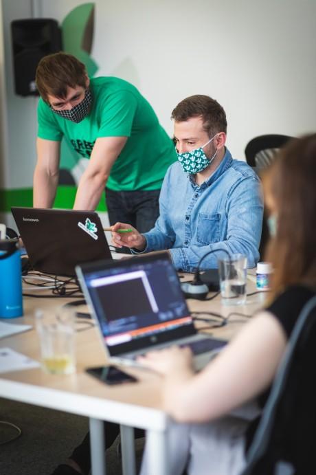 mentor a student programování v bootcampu green fox academy