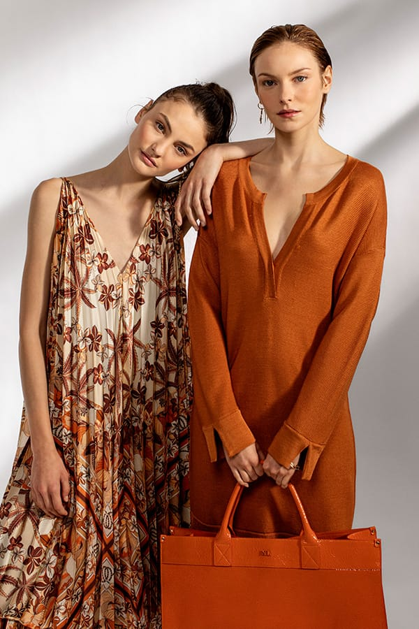 models in image of comercial campaign of Naulover for the spring summer collection
