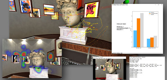 Vizard virtual reality software data collection