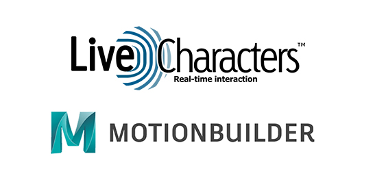 Live characters virtual reality software