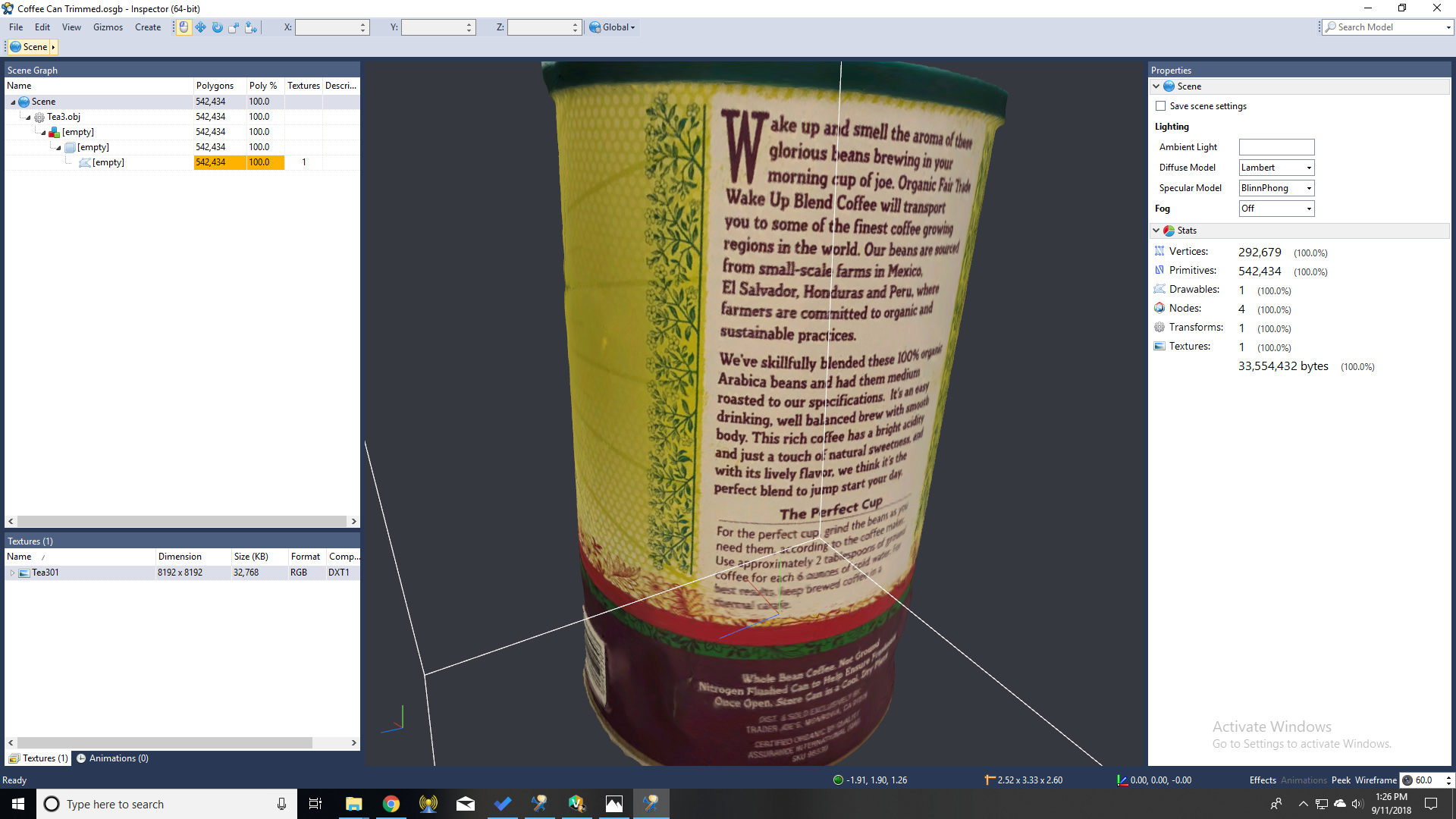 How I Brought a Coffee Can Into Virtual Reality Using Smartphone Photos
