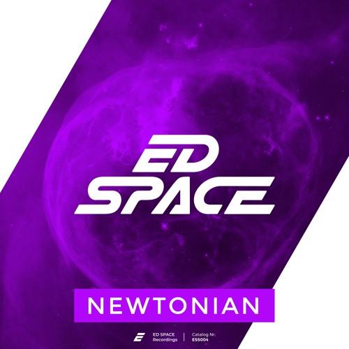 Newtonian artwork with photo by NASA