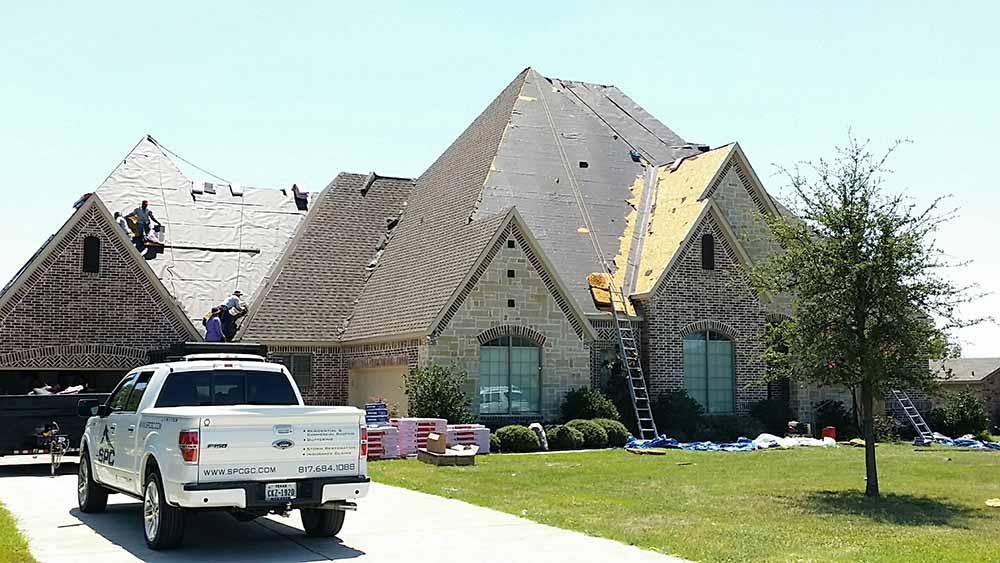 under construction storm restoration