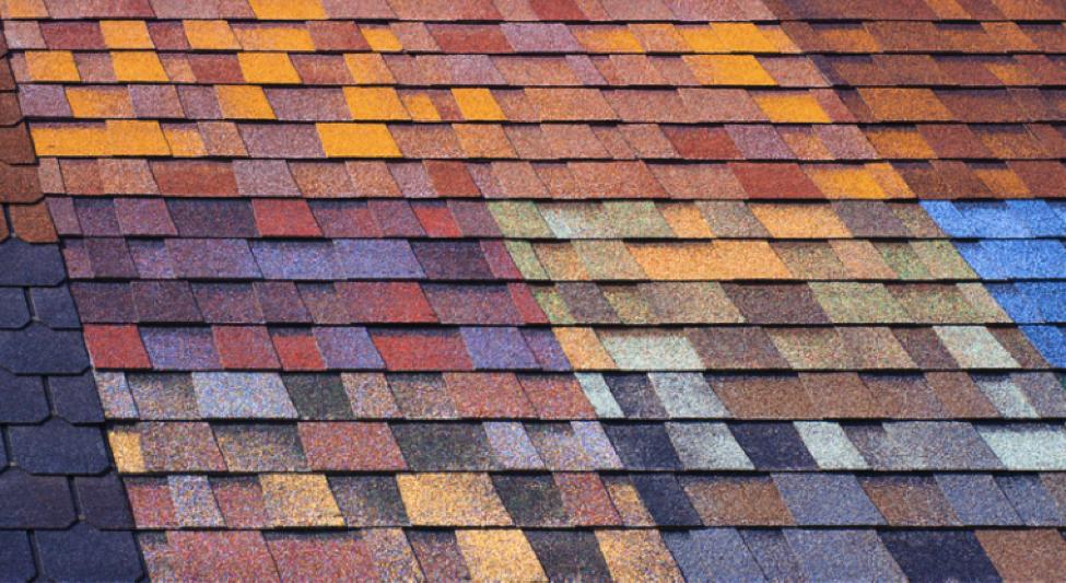 Colored Asphalt Roof