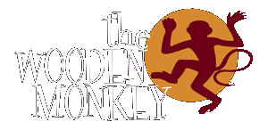 wooden monkey logo