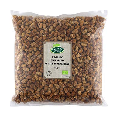 Certified Organic Dried Mulberry Berries