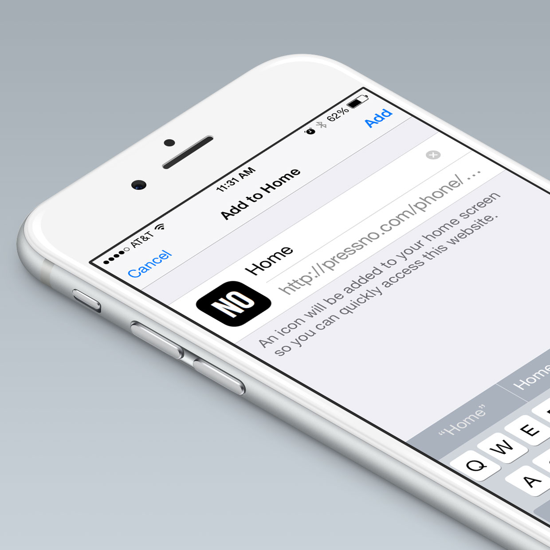 Custom iOS Bookmark Icon