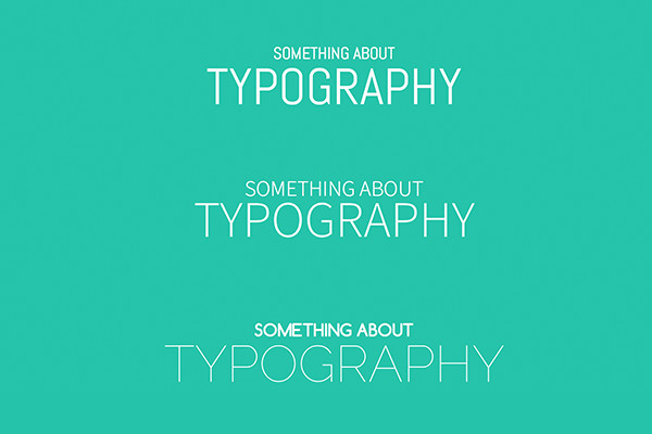 Typography Pack 1