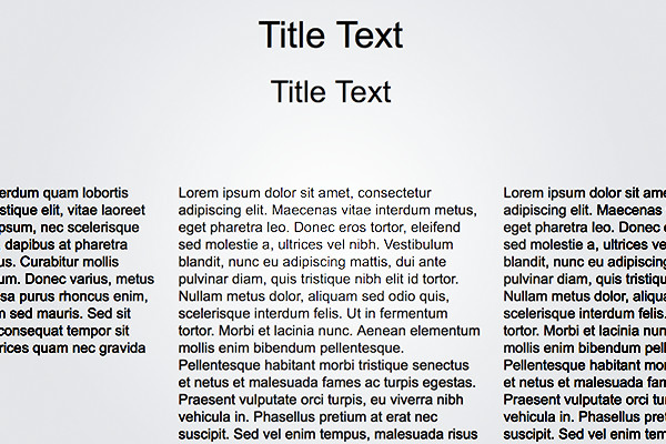 Placeholder Text Kit