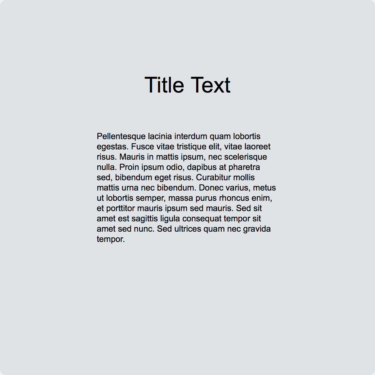 Placeholder Text Kit