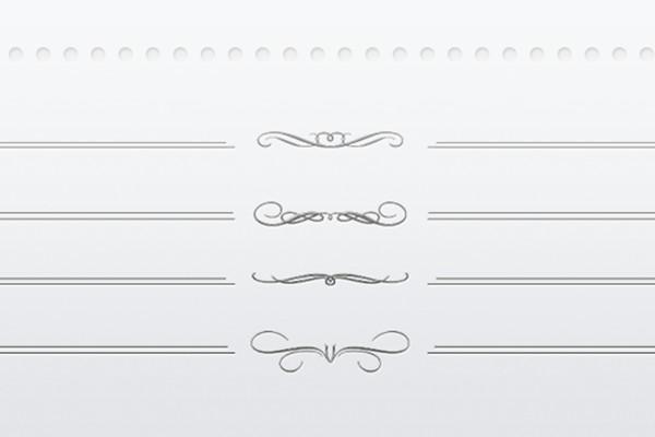 Letterpress Dividers