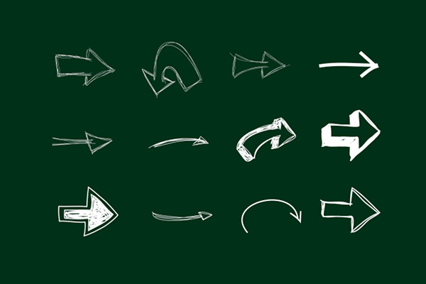 Arrow Pack 2 - Hand Drawn
