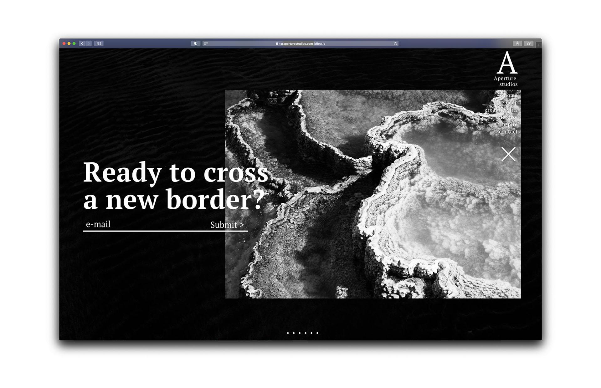 Screenshot of web platform based on durability