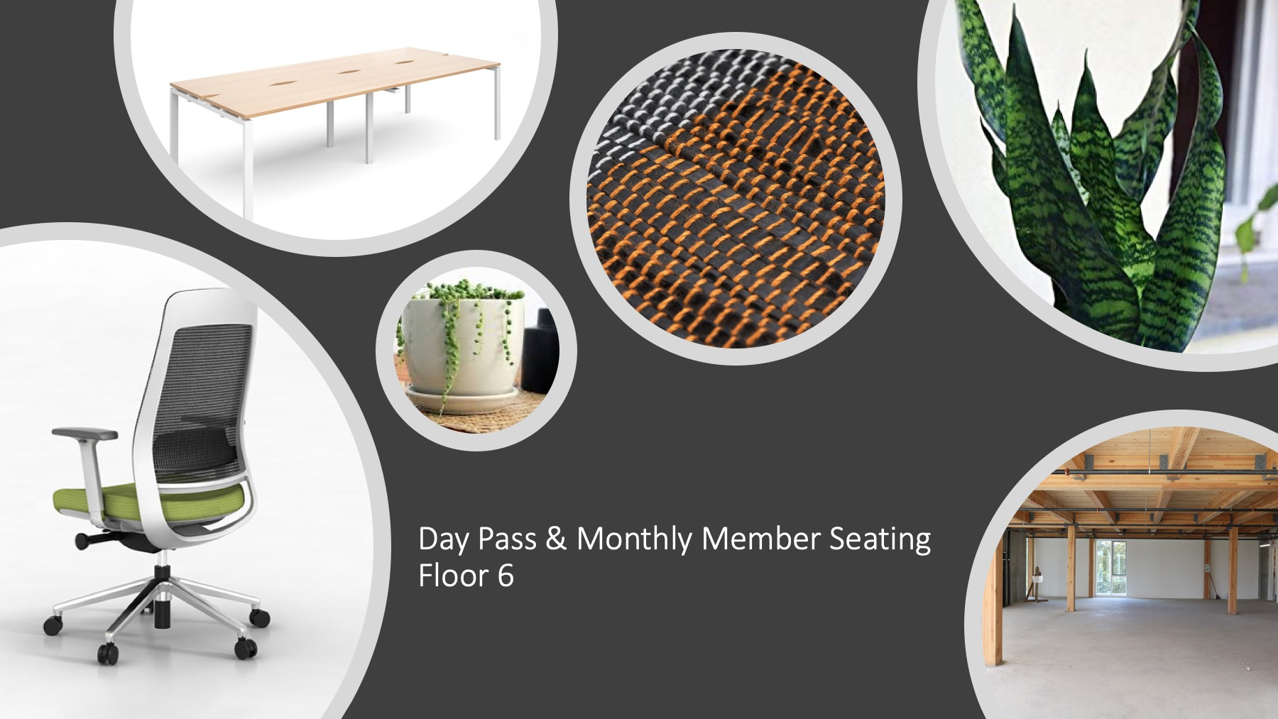 examples of floor member seating