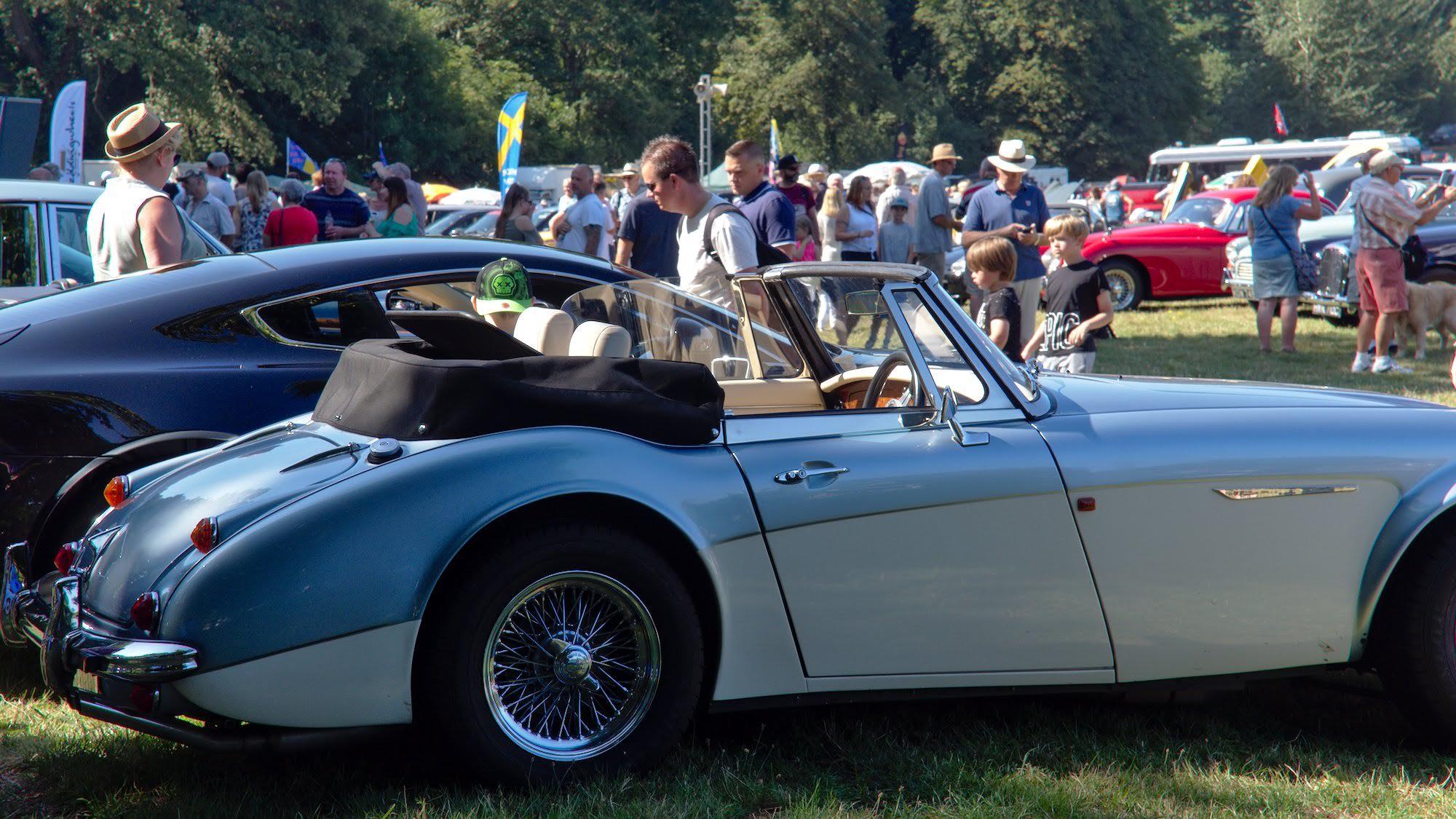 Mount Edgcumbe Classic Car Show 2020