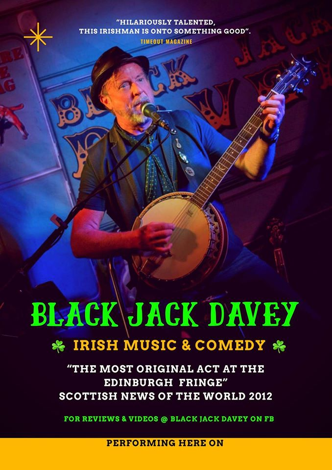 Live Music - Black Jack Davey