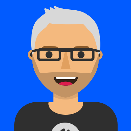 An illustration of Paul Argent, Creative Director at Milo Creative. Paul is an expert in Product Design, Art Direction, User Interface Design (UI design), and user experience design (UX design).
