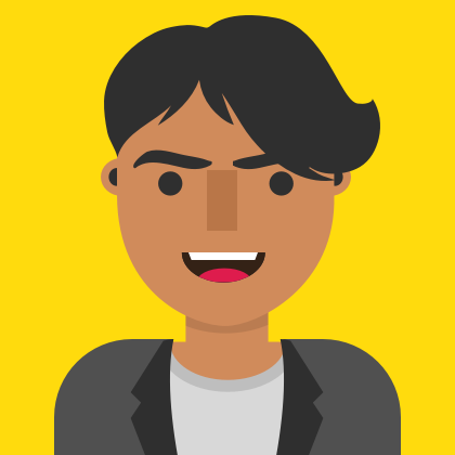 An illustration of Petros Lafazanidis, Technology Director at Milo Creative. Petros is an expert in React, React Native, Unity, and native development for iOS and Android.