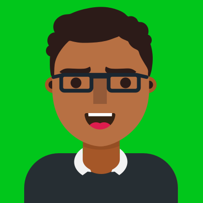 An illustration of Nuwan Narasinghe, Senior Developer at Milo Creative. Nuwan is an expert in React, React Native, Unity, and native development for iOS and Android.
