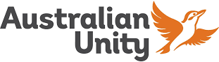 Australian Unity logo at Geelong Family Dental Care