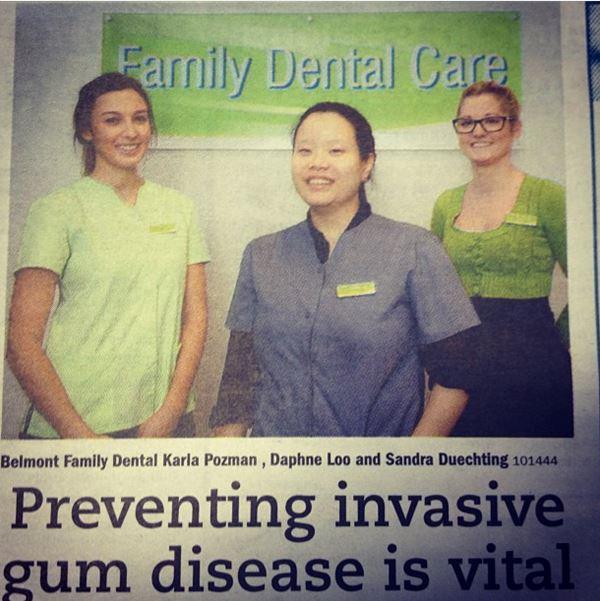 Preventing invasive gum disease is vital news article
