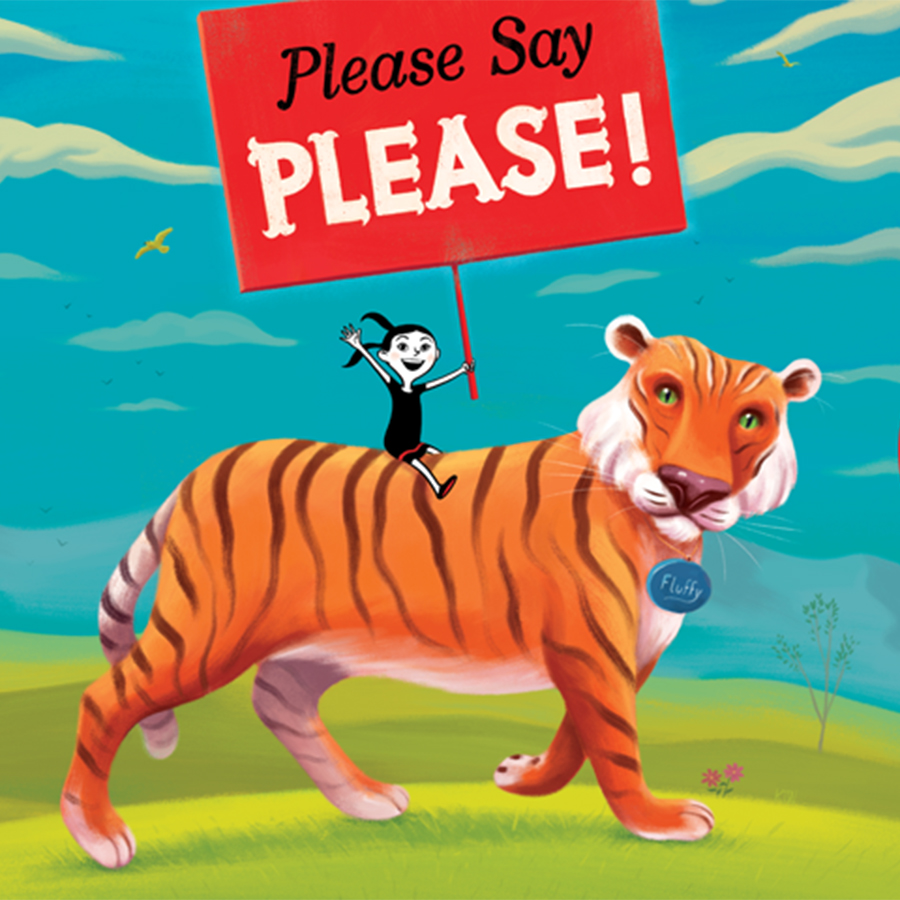 Illustrating Our Children's Future With Kyle T. Webster Graphic with Tiger
