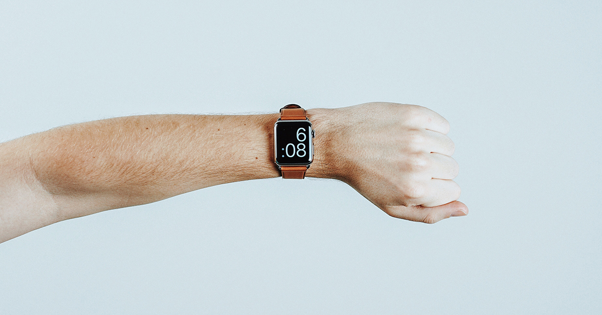 Smart Watch on Arm