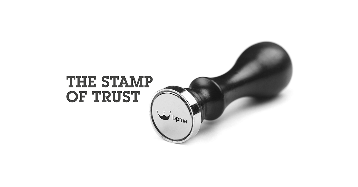 BPMA Stamp of Trust Image