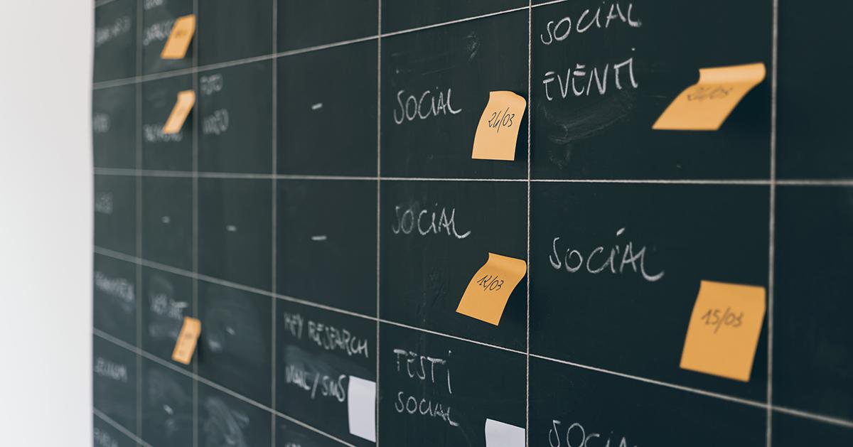Customer Journey Blackboard Social Media
