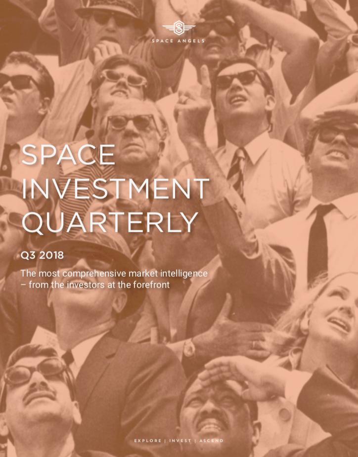 Space Investment Quarterly: Q3 2018