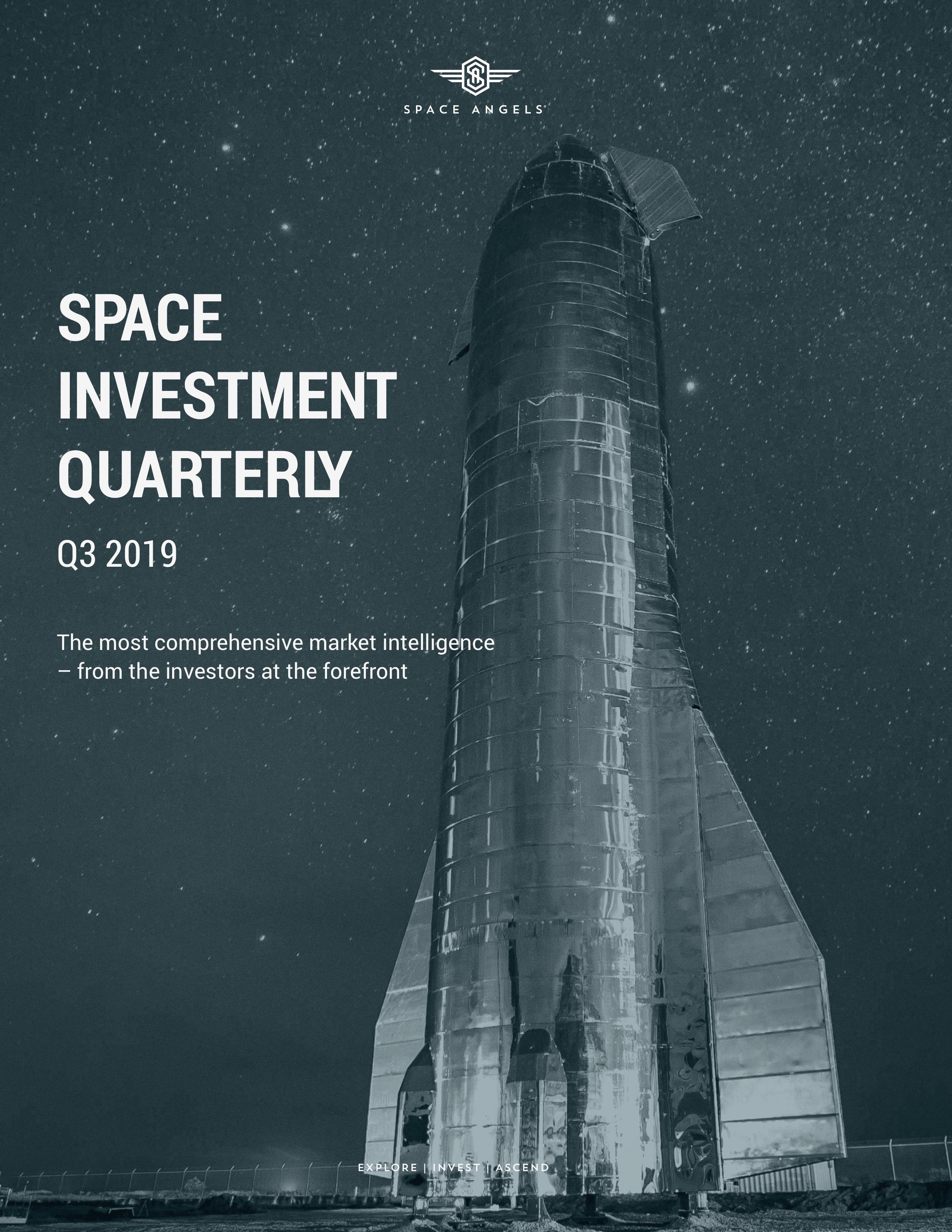 Space Investment Quarterly: Q3 2019