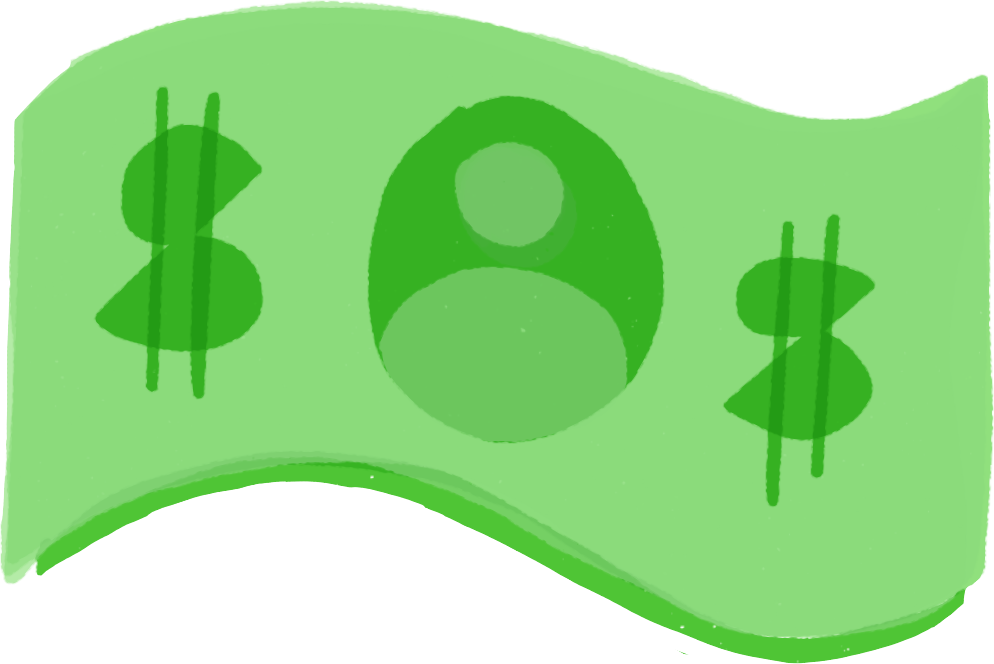 Dollar Bill illustration