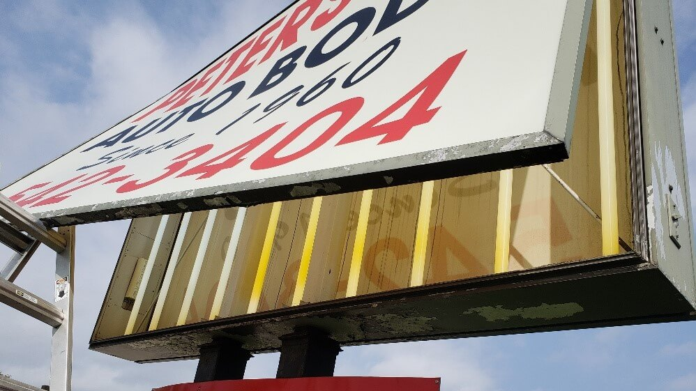 LED Sign Repair and Upgrade