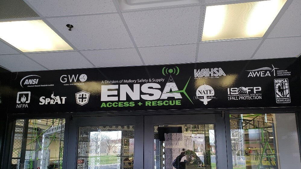 ENSA Access interior vinyl wall covering