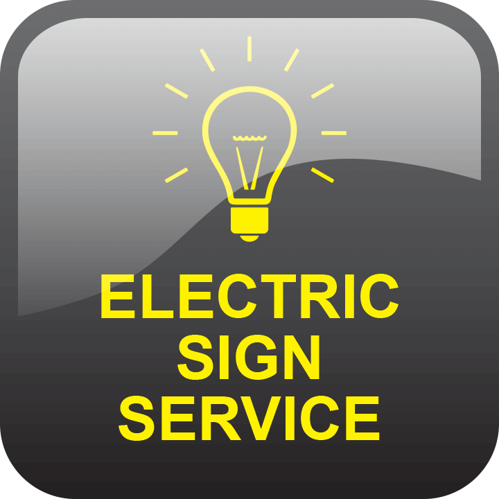 Sign service and repair by signs and lines by stretch
