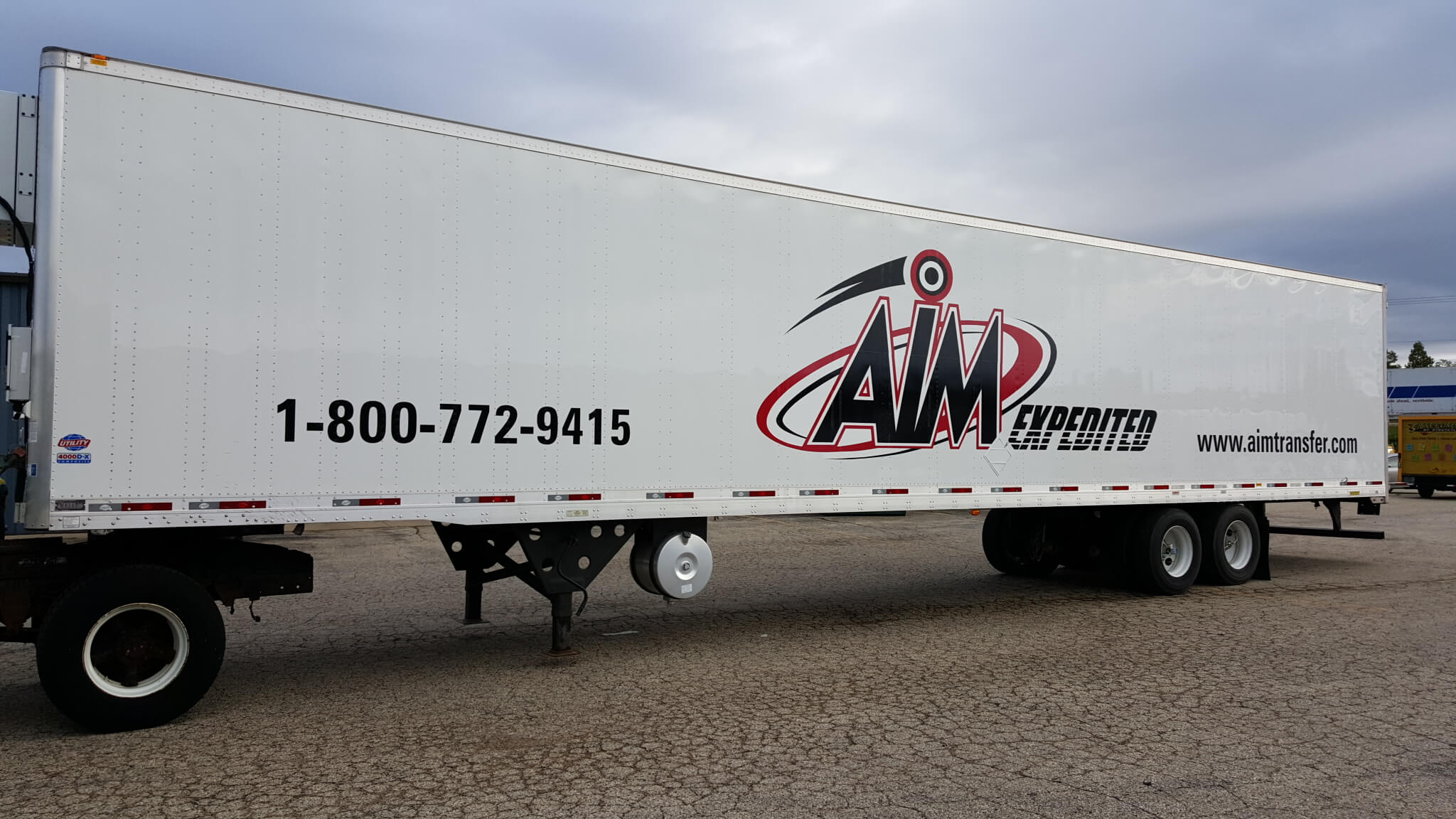 AIM Trailer and Truck Wrap