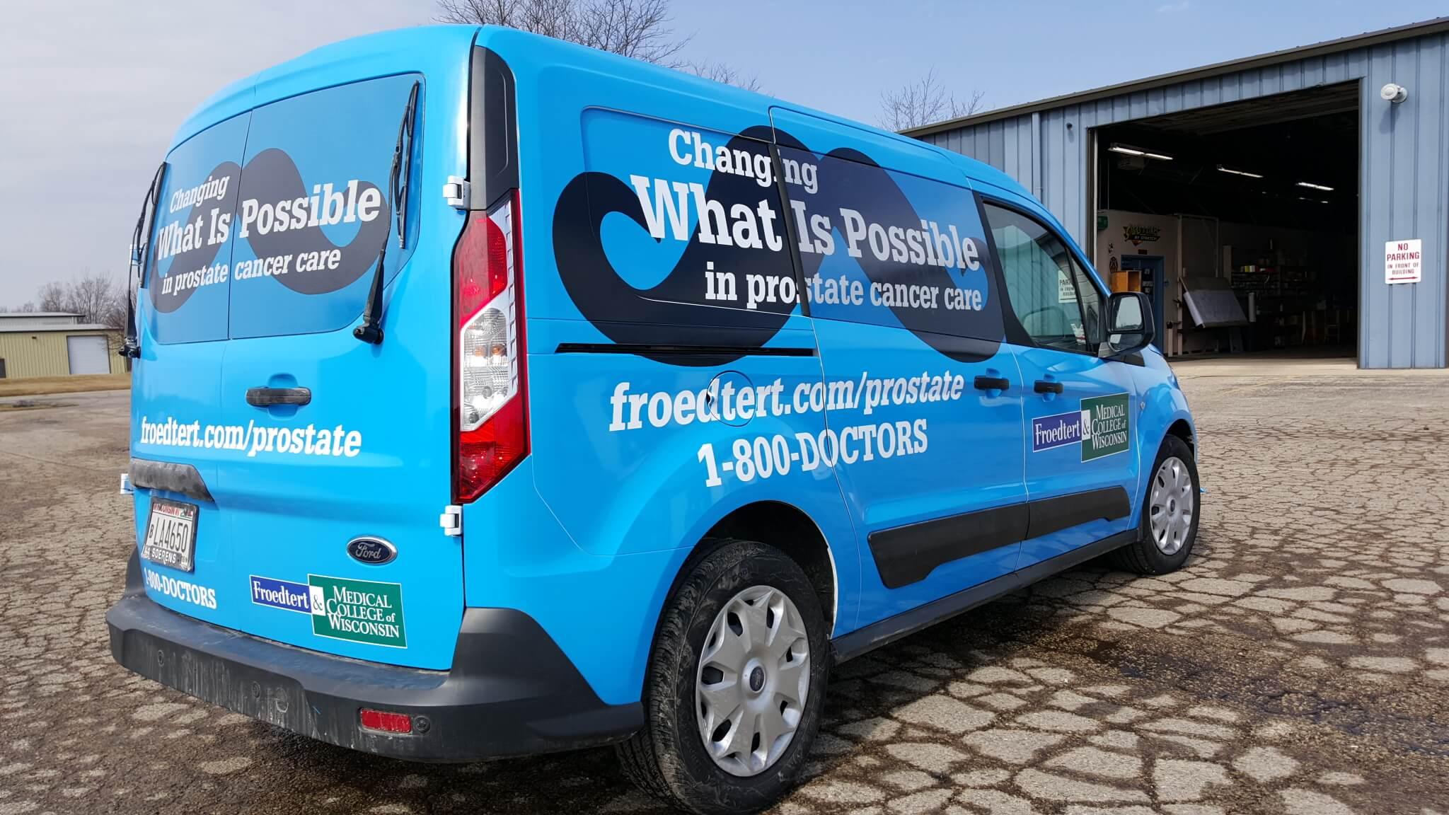 Frodert fleet vehicle wraps