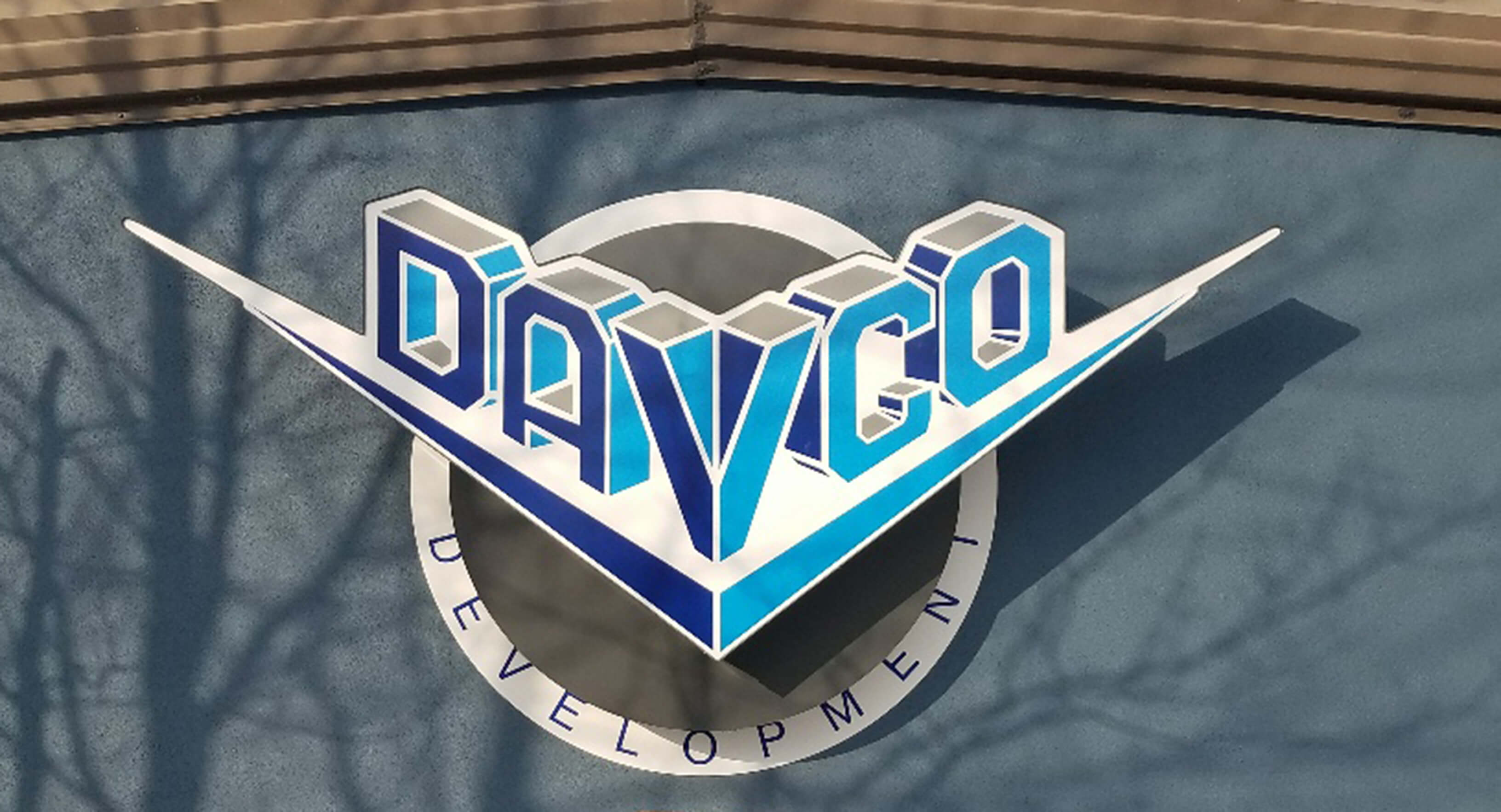 Davco Dimensional Lettering Sign