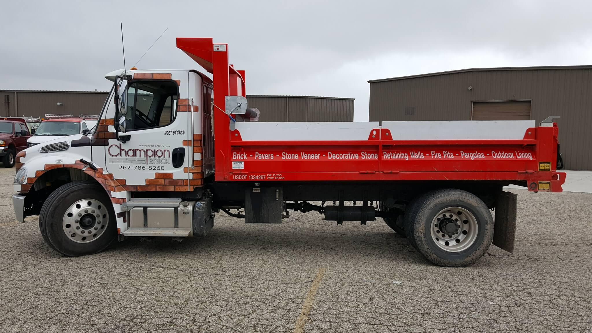 Dump Truck Door and Cab Detials